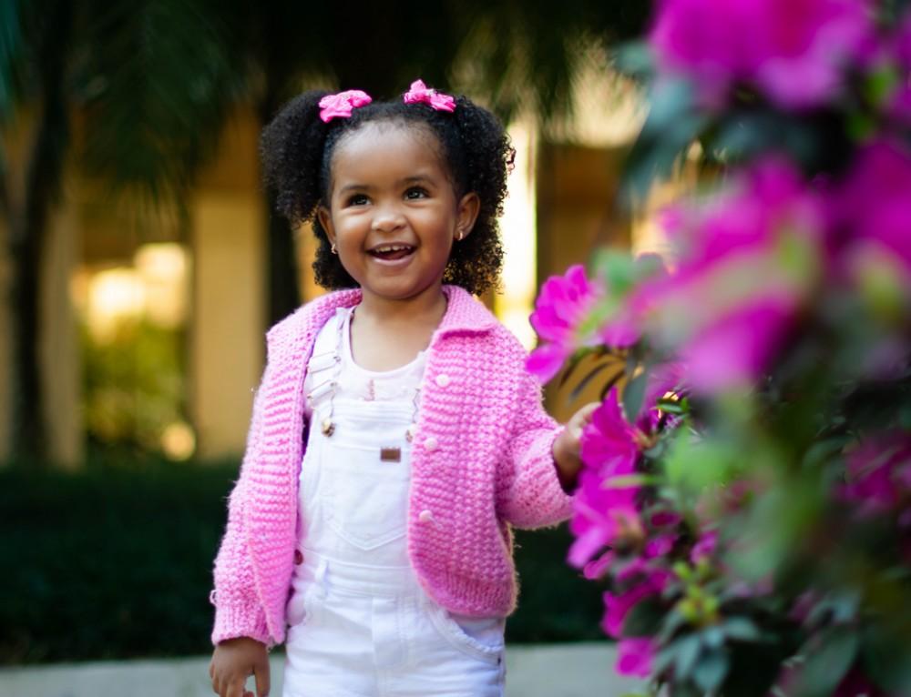 3 anos Yasmin