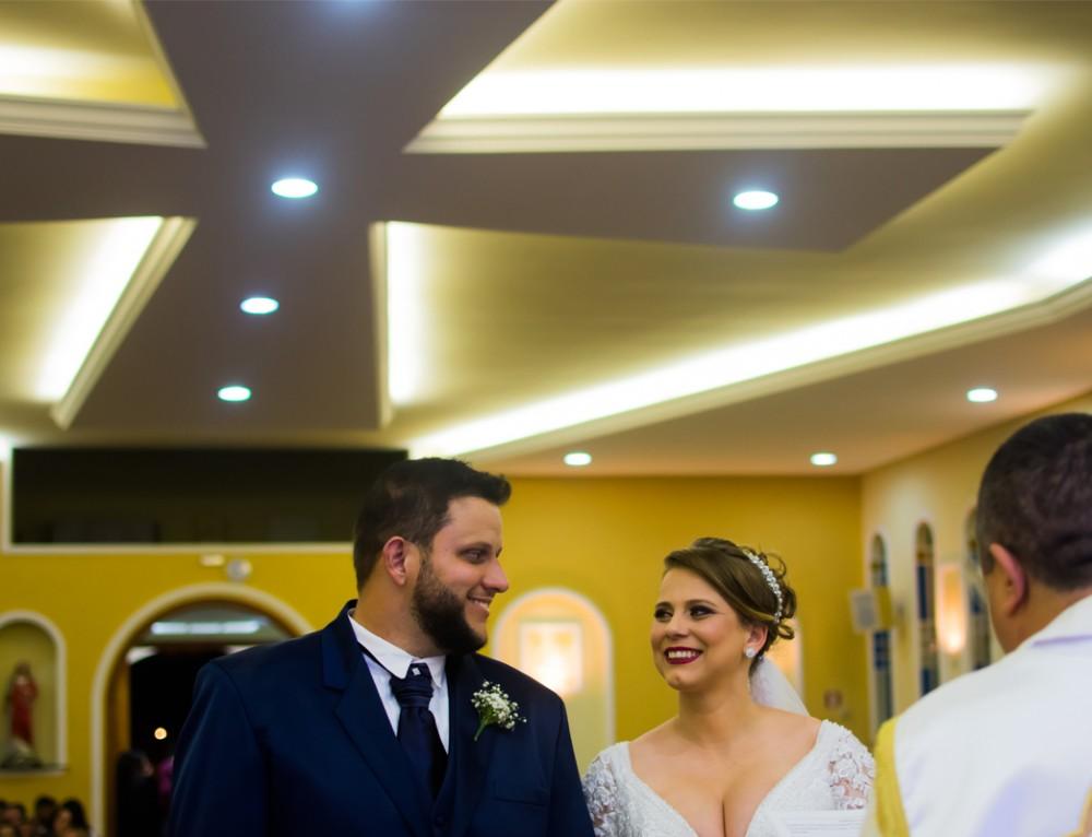 Cerimônia Religiosa Andréia e Edgar